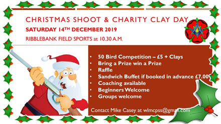 Christmas Shoot & Charity Clay Day